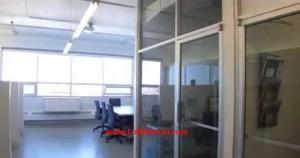 espaces bureaux fermés et espaces ouverts