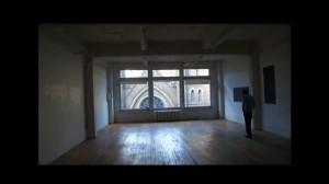 Loft style office space wooden floors