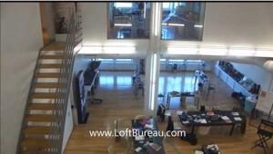 Bureau style loft centre ville sur 2 etages