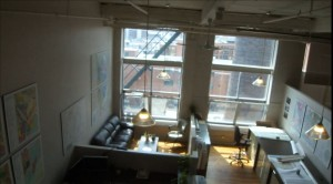 Dompark bureau style loft en sous location