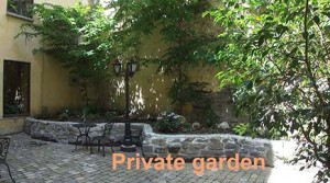 Accès direct Jardin privé